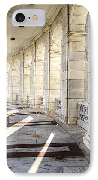 IPhone Case featuring the photograph Marble Sunlight And Silence by Ross Henton