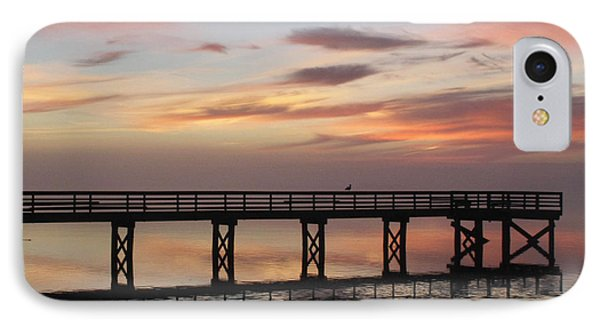 IPhone Case featuring the photograph Marbled Pier by Suzy Piatt