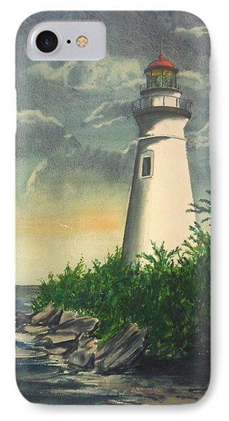 Marblehead Light On Lake Erie IPhone Case