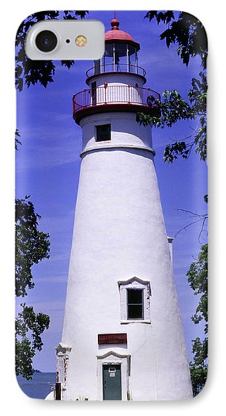 IPhone Case featuring the photograph Marblehead Light by Terri Harper