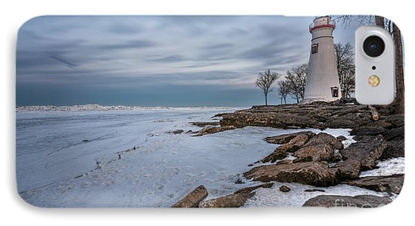 Marblehead Lighthouse  IPhone 7 Case by James Dean