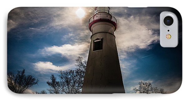 Marblehead Lighthouse Phone Case by Lori England Zornes