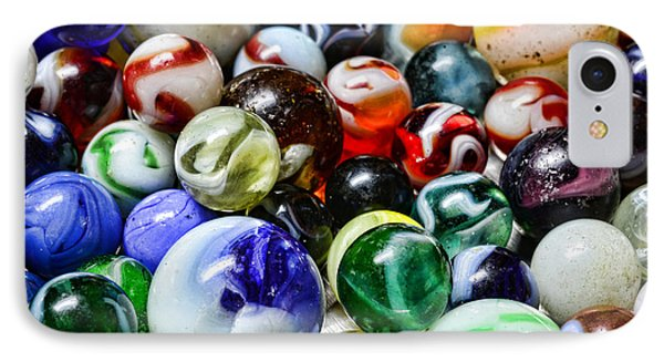 Marbles All That Color Phone Case by Paul Ward