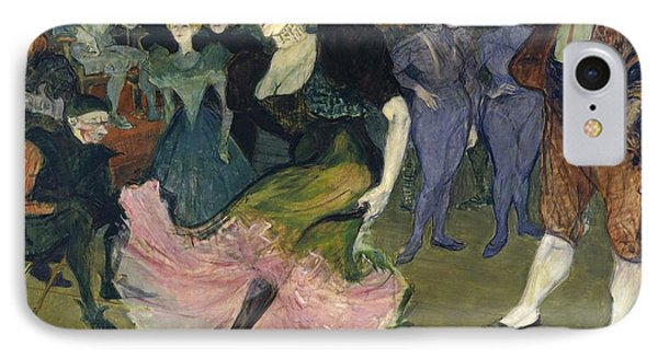 Marcelle Lender Dancing The Bolero In Chilperic Phone Case by Henri de Toulouse-Lautrec