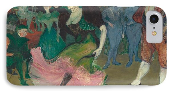 Marcelle Lender Dancing The Bolero In Chilperic IPhone Case by Toulouse-Lautrec