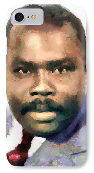 Marcus Garvey IPhone Case by Wayne Pascall