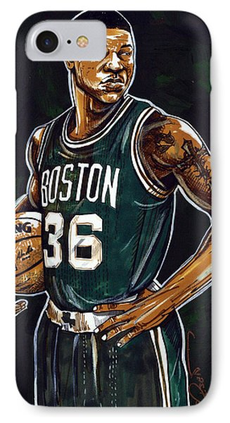 Marcus Smart IPhone Case by Dave Olsen