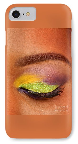 Mardi Gras 2014 Eye See Colors Of Mardi Gras IPhone Case by Michael Hoard