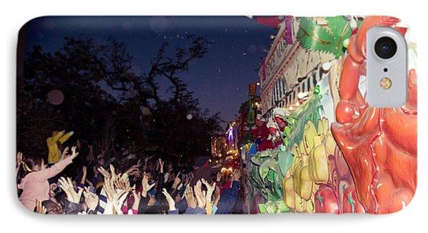 Mardi Gras Atmosphere Phone Case by Ray Devlin