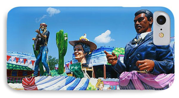 Mardi Gras Floats IPhone Case by Panoramic Images