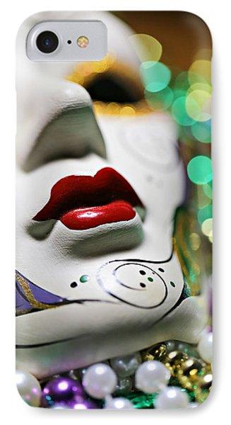 Mardi Gras II IPhone Case by Trish Mistric