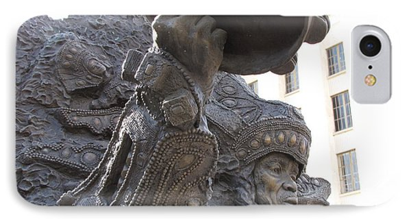 IPhone Case featuring the photograph Mardi Gras Indian by Beth Vincent