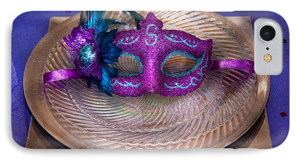 Mardi Gras Theme - Surprise Guest Phone Case by Mike Savad