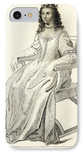 Margaret Cavendish IPhone Case by British Library