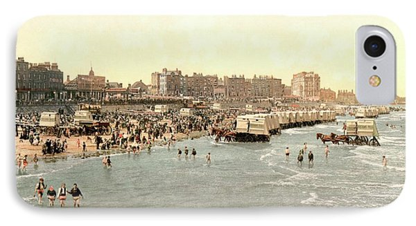 Margate Beach IPhone Case by Library Of Congress
