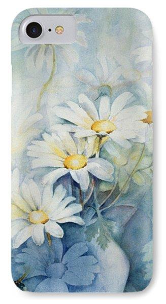 Marguerites, Alexandria IPhone Case by Karen Armitage
