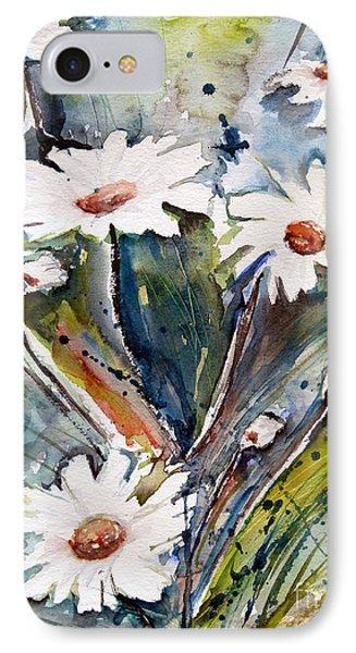 Marguerites IPhone Case by Ismeta Gruenwald