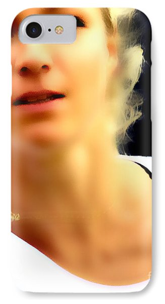 Maria Kirilenko IPhone Case by Phil Robinson