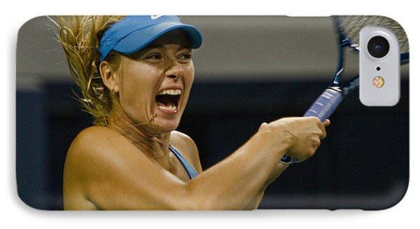 Maria Sharapova IPhone Case by David Long