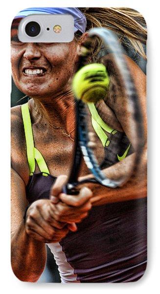 Maria Sharapova IPhone Case by Srdjan Petrovic