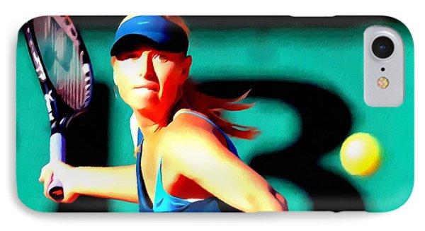 Maria Sharapova Tennis IPhone Case