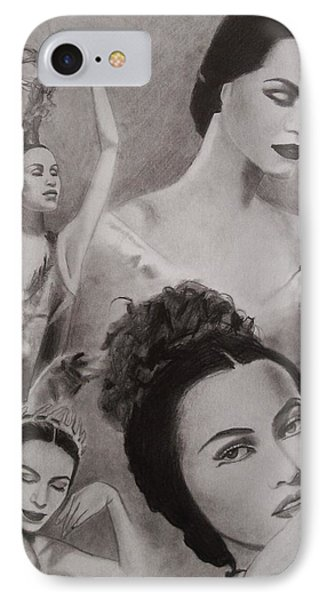 Maria Tallchief Phone Case by Amber Stanford