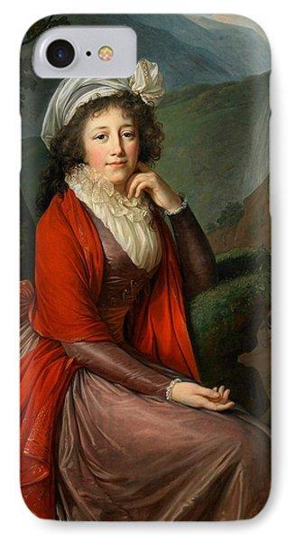 Maria Theresia Bucquoi IPhone Case