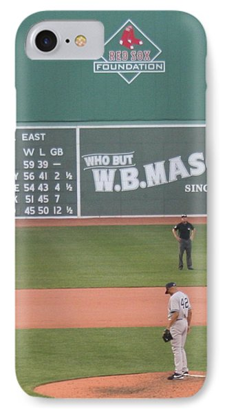 Mariano On The Mound Phone Case by Stephen Melcher