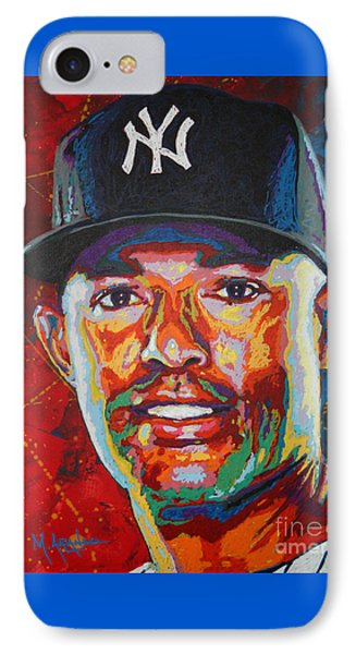 Mariano Rivera Phone Case by Maria Arango