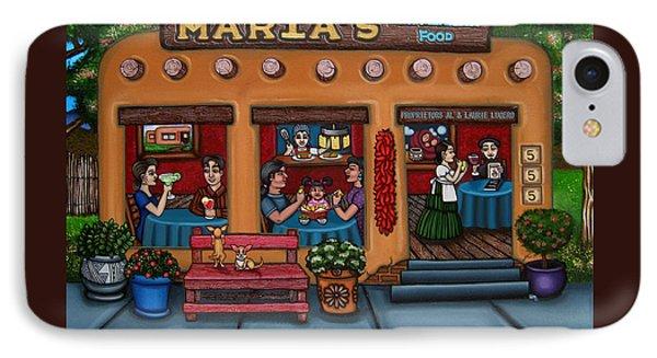 Maria's New Mexican Restaurant Phone Case by Victoria De Almeida