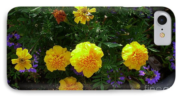IPhone Case featuring the photograph Marigolds by Fred Wilson