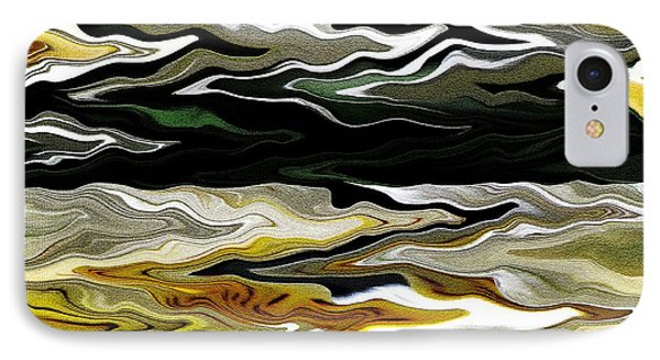 Marilene Staprilene Waves IPhone Case by J McCombie
