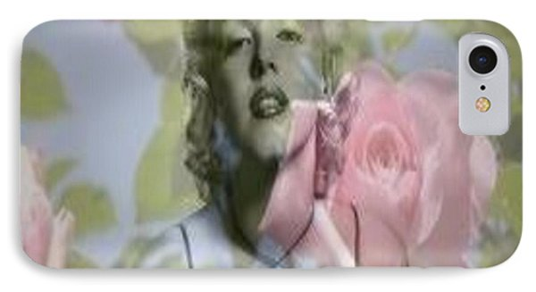 Marilyn And The Big Screen IPhone Case