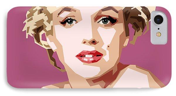Marilyn IPhone 7 Case by Douglas Simonson