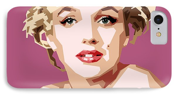 Marilyn IPhone 7 Case by Douglas Simonson