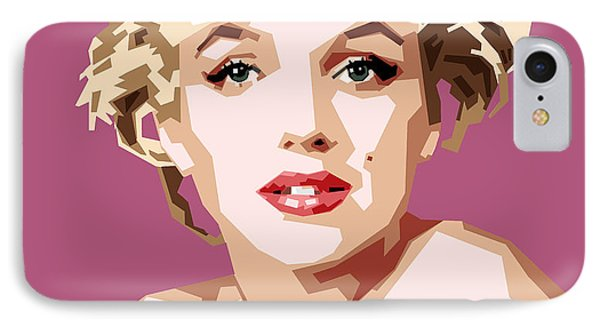 Marilyn IPhone Case by Douglas Simonson