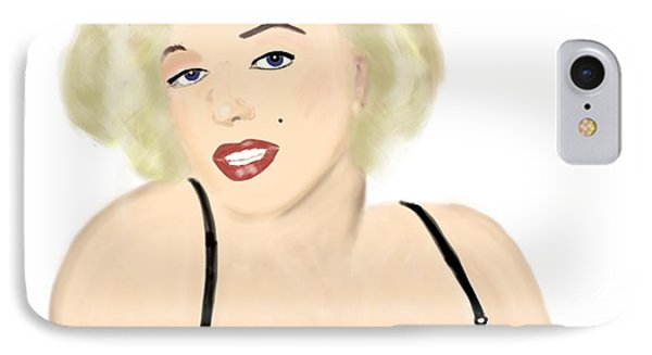 Marilyn IPhone Case by Helen Bowman