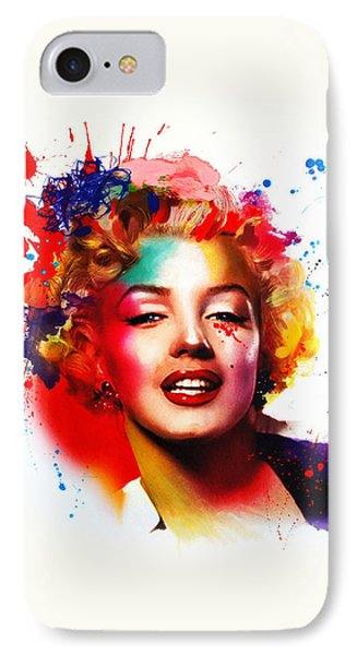 Marilyn IPhone Case by Isabel Salvador