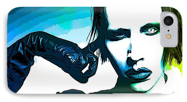 Marilyn Manson Poster IPhone Case