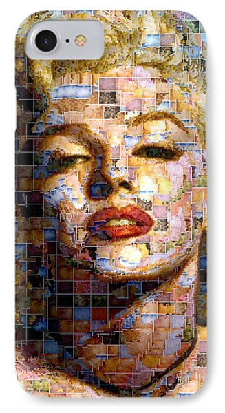 Marilyn Monroe - Ceramics IPhone Case