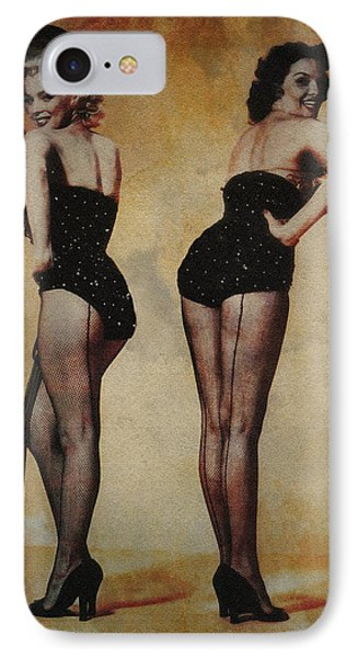 Marilyn Monroe And Jane Russell IPhone Case by EricaMaxine  Price