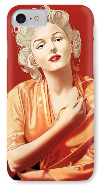 Marilyn Monroe Phone Case by Andrew Harrison