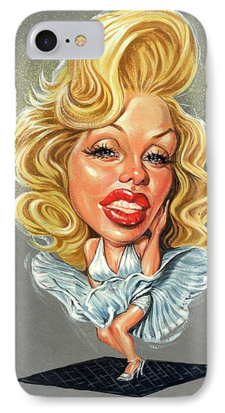 Marilyn Monroe IPhone Case by Art