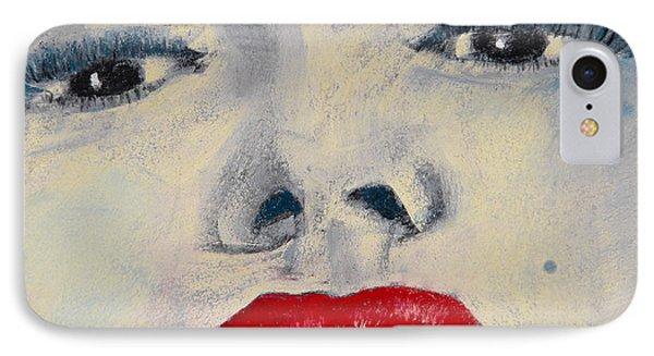 Marilyn Monroe Phone Case by David Patterson