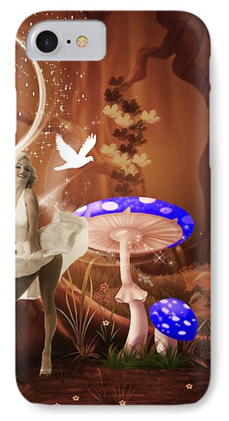 Marilyn Monroe In Fantasy Land Phone Case by EricaMaxine  Price