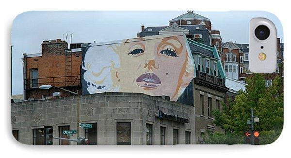 Marilyn Monroe In Woodley Park IPhone Case by Cora Wandel