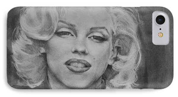 Marilyn Monroe IPhone Case by Jani Freimann