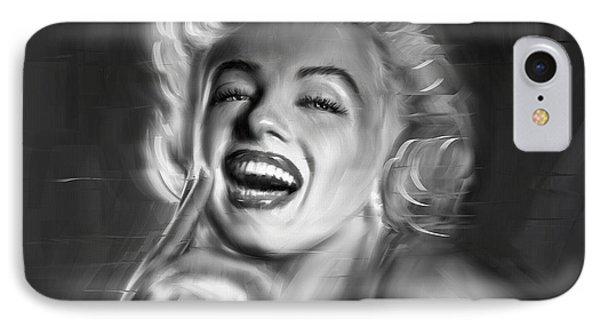 Marilyn Monroe IPhone Case by Linton Hart