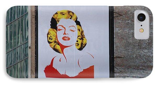 Marilyn Monroe Phone Case by Rob Hans