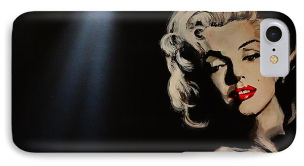 IPhone Case featuring the painting Marilyn Monroe - Tmi by Eric Dee